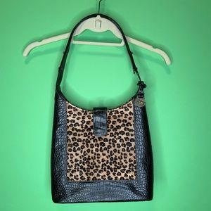 Brahmin Singita collection cheetah print purse